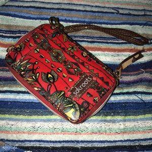 Sakroots clutch wallet